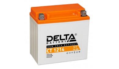 Аккумулятор мото 12V 14 Ампер  Delta